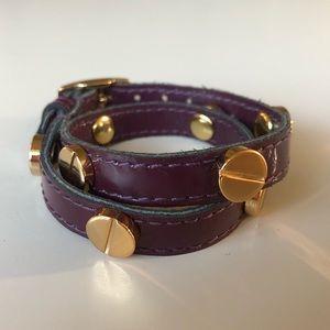 CC SKYE wrap bracelet with screws
